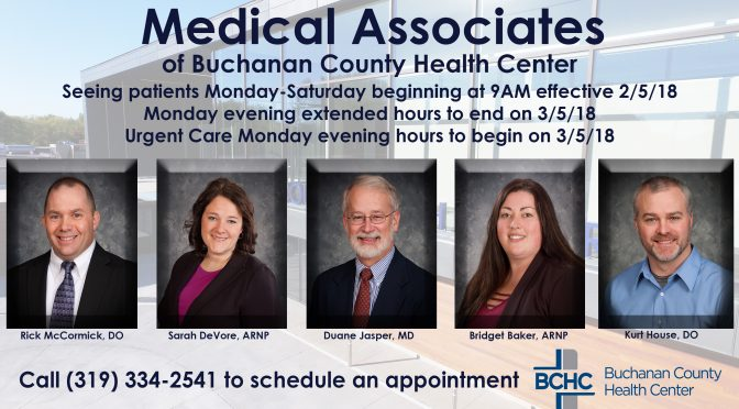 BCHC News Archives - Buchanan County Health Center