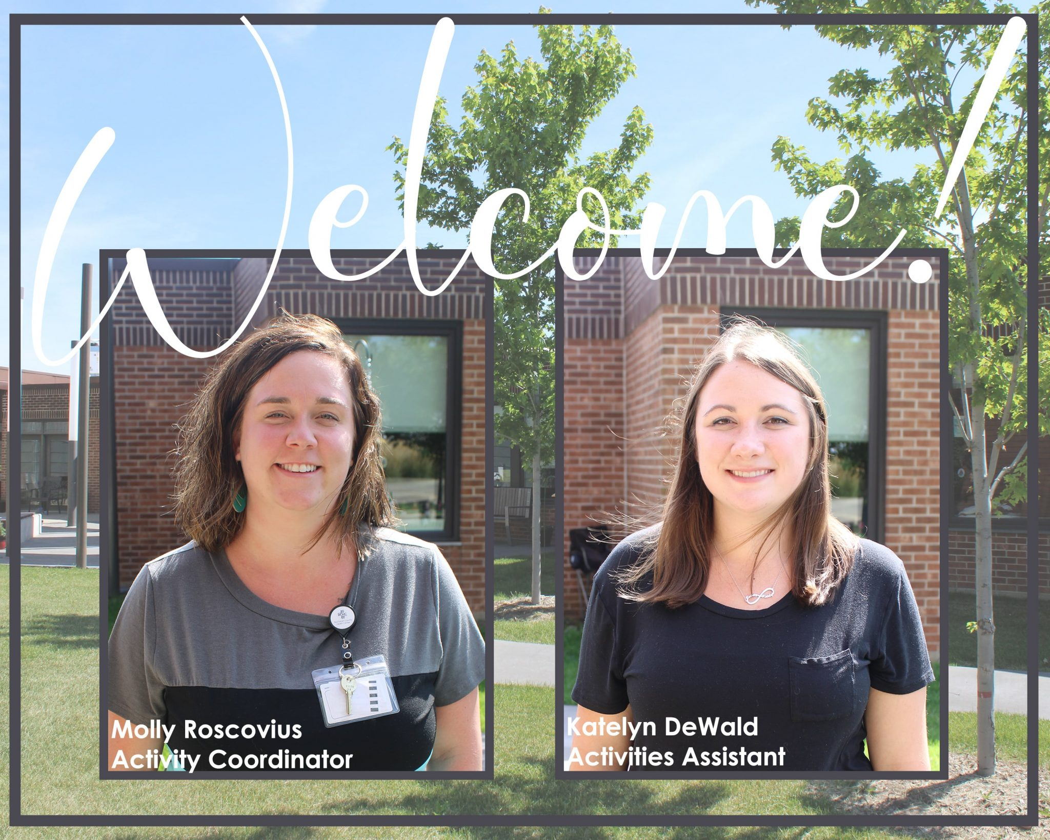 BCHC Welcomes New Faces to the Activities Department at Lexington Estate